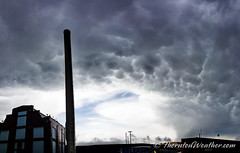 May 7, 2019 - Mammatus clouds over north Denver. (ThorntonWeather.com)