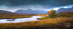 Loch Ba and Glencoe (nybblr) Tags: scotland uk glencoe ballachulish highlands winter loch glen mountains mountainscape river water cloudy pano panorama fortwilliam travel