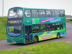 Go North East 6073 (NK62FCC) - 05-05-19 (peter_b2008) Tags: goaheadgroup gonortheast gonorthern tynevalleyten volvo wrightbus wright eclipsegemini2 6073 nk62fcc buses coaches transport buspictures