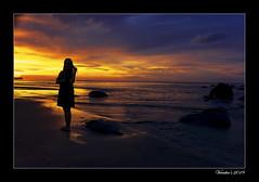 My World (VERODAR) Tags: sunset permairainforest santubong beach sea wave clouds rocks sarawak sarawakborneo kuching nature nikon verodar veronicasridar