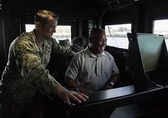 Republic of Palau Vice President Raynold B. Oilouch visits U.S. Naval Base Guam.