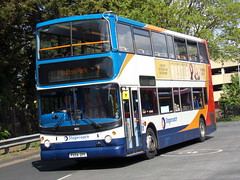 Stagecoach TransBus Trident (TransBus ALX400) 18152 PX04 DPF (Alex S. Transport Photography) Tags: bus outdoor road vehicle stagecoach stagecoachmidlandred stagecoachmidlands alx400 alexanderalx400 dennistrident trident transbustrident transbusalx400 route7 18152 px04dpf