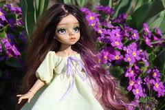 4H5A5363 (Yumi♡) Tags: bjd doll garden yumistudio spring flowers glacedolls 2019 yellowdress
