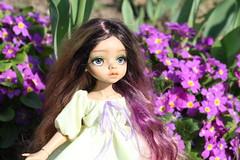 4H5A5361 (Yumi♡) Tags: bjd doll garden yumistudio spring flowers glacedolls 2019 yellowdress