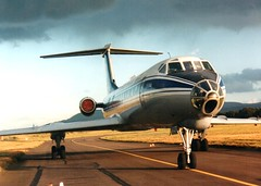 TU-134 (Gerry Rudman) Tags: tupolev tu134a belavia edinburgh