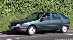 Citroën ZX 1.4i Avantage (XBXG) Tags: acka14 citroën zx 14i avantage citroënzx green vert citromobile 2019 citro mobile carshow expo haarlemmermeer stelling vijfhuizen nederland holland netherlands paysbas youngtimer old french car auto automobile voiture ancienne française france frankrijk vehicle outdoor