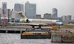 C-GLBG - Bombardier BD-700-1A10 Global 7500 - LCY (Seán Noel O'Connell) Tags: bombardierinc cglbg bombardier bd7001a10 global7500 gl7t londoncityairport lcy eglc aviation avgeek aviationphotography planespotting