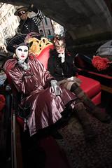 Gondola cruise with Blue Astral and daughter (Claude Schildknecht) Tags: ad400pro beautybox bleuastral carnaval carnevaledivenezia2019 carnival costume enora girl gondola gondole gondolieri italia italie italy manfrotto mask masque venedig venezia venice venise