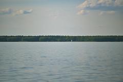Badeinsel im Steinhuder Meer (Michael Hajduk) Tags: water clouds wolken wasser idyll deutschland germany hannover niedersachsen