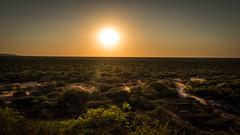 Namibia - Waterberg Plateau - Sunrise over Hereroland (Kalahari) (Julien O'Farley) Tags: africa géographie namibie sunrise waterbergplateau herero kalahari bush savanna sun