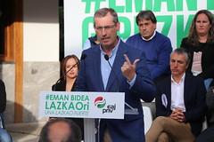 Lazkaoko hautagaitzaren aurkezpena (Markel Olano Arrese) Tags: markelolano lazkao eaj pnv udalhauteskundeak eleccionesmunicipales