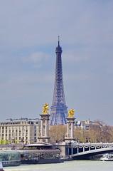 421 Paris en Mars 2019 - Pont Alexandre III, Tour Eiffeil (paspog) Tags: paris france pont seine bridge brücke 2019 mars march märz toureifel pontalexandreiii