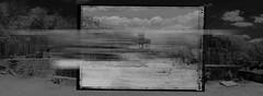 Dzibilchaltún (Lumière Passagère) Tags: hasselbladstellar mayan maya pyramid 617 mixedmedia polaroid 6x17