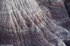 Painted Desert Erosion (walkerross42) Tags: desert painteddesert soil erosion color minerals petrifiedforest nationalpark arizona