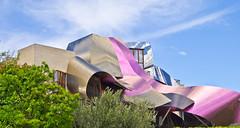 Ciudad del Vino # 1 (schreibtnix on'n off) Tags: reisen travelling europa europe spanien spain gebäude building frankogehry futuristisch futuristic ciudaddelvino olympuse5 schreibtnix