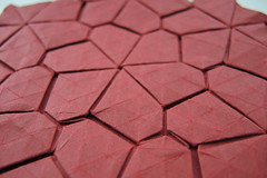 Floret Tile (Arseni Ko) Tags: origami pattern paper tesselation geometry symmetry design