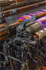 Weaving #2 (Clive1945) Tags: yorkshire bradfordindustralmuseum d7100 loom thread indutry