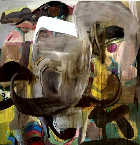 IMG_3605 Albert Oehlen 1954 Deutschland Ohne Titel Untitled 1991 Augsburg Glaspalast. Staatsgalerie Moderne Kunst