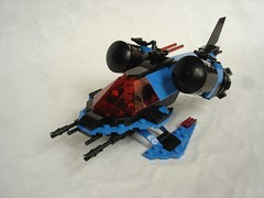 SP1 Wasp (fdsm0376) Tags: bpchallenge brickpirate lego moc space police classic wasp spacecraft spaceship