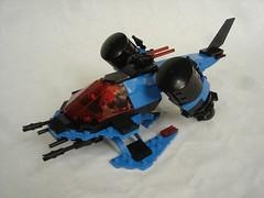 SP1 Wasp take-off (fdsm0376) Tags: bpchallenge brickpirate lego moc space police classic wasp spacecraft spaceship