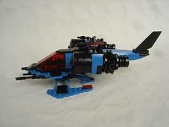 SP1 Wasp side (fdsm0376) Tags: bpchallenge brickpirate lego moc space police classic wasp spacecraft spaceship