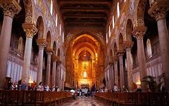 Kathedrale Santa Maria Nuova in Monreale (Mariandl48) Tags: kathedrale dom santamarianuova monreale sizilien