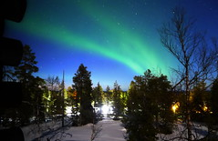 Northern Lights (timo_w2s) Tags: northernlights auroraborealis aurora ruka kuusamo lapland finland winter night