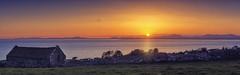 Cardigan Bay Sunset (seantindale) Tags: cardiganbay wales uk travel explore sunset sea omdem1markii panoramic srbphotographic ndgrad
