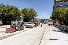 Progress on the new Seventh Avenue North (WSDOT) Tags: seattle gp construction wsdot alaskan way viaduct replacement seventh avenue north battery street tunnel road work 2019