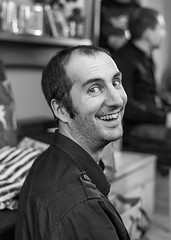 Alex (daveseargeant) Tags: portrait goofy fun xmas christmas nikon df rochester medway kent monochrome black white family 50mm 18g