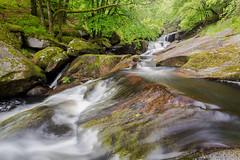 Dans le chaos de L'Ellez. (Le Beux Pascal) Tags: rochers arbres rivière cascade ellez huelgoat finistere bretagne
