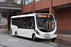 Powell's Hellaby 50, MX12CFZ. (EYBusman) Tags: powell powells hellaby south yorkshire bus coach pond street sheffield city centre wright streetlite df minibus ct plus hackney community transport impact coaches perivale london gsk shuttle mx12cfz eybusman
