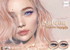 WarPaint* @ Salon 52 (Mafalda Hienrichs) Tags: warpaint war paint secondlife salon 52 event release lashes isabella eyelashes applier genus project catwa lelutka cosmetics mascara