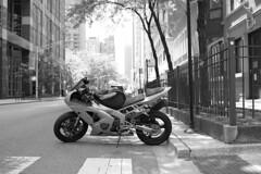 Ninja (streetravioli) Tags: street photography chicago kawasaki motorbike motorcycle