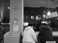 You snooze, you lose (streetravioli) Tags: street photography drink tea brooklyn ny new york bubble sleep nap sleeping napping 8th ave avenue