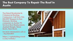 Get Best flat roof repair through the capital (capitalsiding) Tags: roofing contractors