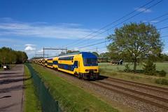 NS DDZ 7631 + DDZ 7500 - IC 560 Groningen - Rotterdam Centraal  - Beilen (Rene_Potsdam) Tags: ddz beilen nederlandsespoorwegen drenthe europe europa nederland treinen trenes trains züge