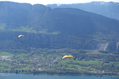 Takeoff area for paragliders @ Col de la Forclaz @ Hike around Pointe de Chenevier (*_*) Tags: april spring printemps 2019 bornes pointedechenevier sourcesdulacdannecy savoie europe france hautesavoie 74 annecy hiking mountain montagne nature randonnee walk marche montmin coldelaforclaz parapente paragliding