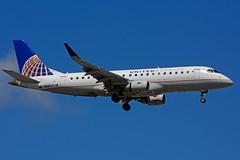 N83329 (United Express - Mesa Airlines) (Steelhead 2010) Tags: embraer nreg emb175 yyz n83329 unitedairlines unitedexpress mesaairlines