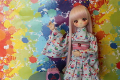 Nueva chica en casa. (Ninotpetrificat) Tags: mdd volks dollce dollcedoll pinkhair kawaii cute dollfiedream dollfie asiandoll japandoll doll hobby toys
