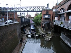 Manchester = canal barge by Deansgate Locks, Rochdale Canal (rossendale2016) Tags: manchester locks deansgate canal rochdale
