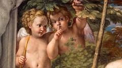1600 ca Annibale Carracci, Farnese Particolare del soffitto (Alvaro ed Elisabetta de Alvariis) Tags: 1600caannibalecarraccifarneseparticolaredelsoffitto raccoltafotodealvariis rioneregola piazzafarnese viagilia campodefiori