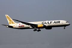 A9C-FD Boeing 787-9 GFA  LHR (Jetstar31) Tags: a9cfd boeing 7879 gfa lhr