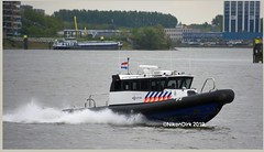 Dutch Police Ribcraft P2. (NikonDirk) Tags: p7 p2 rhib police politie rotterdamrijnmond harbor nikondirk nederland netherlands holland nikon cop cops hulpverlening zeehavenpolitie zee haven dutch seaport border rivierpolitie zeehaven zhp rivier rvp waterpolitie water foto harbour patrols port marine maritime nautical bay constables river ribcraft boot boat