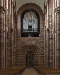 Dom zu Speyer (ulrichcziollek) Tags: rheinlandpfalz speyer dom kaiserdom kirche kirchenschiff orgel seifertorgel romanik romanisch