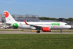 Viva Aerobus Airbus A320-271N D-AXAW (XA-VIH) (widebodies) Tags: hamburg finkenwerder xfw edhi widebody widebodies plane aircraft flughafen airport flugzeug flugzeugbilder viva aerobus airbus a320271n daxaw xavih