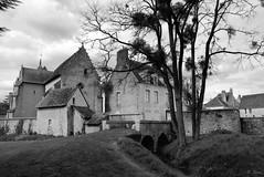 Chevet de l'église de Ceton - Orne (Philippe_28) Tags: ceton orne 61 normandie normandy france perche church argentique analogue camera photography photographie film 135 svema astrum foto 100 bw nb