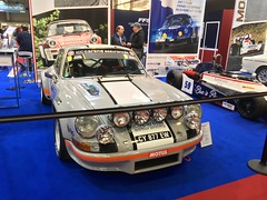 1973 Porsche 911 Carrera 2.8Litre RSR Boxer 6 Cylinders (mangopulp2008) Tags: 1973 porsche 911 carrera 28litre rsr boxer 6 cylinders retro mobile paris france 2019 february