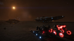 Beagle Point (Rendevous)5 (Cmdr Hawkshadow) Tags: aspexplorer anaconda distantworlds2 srv elitedangerous