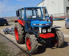 Ford 6610 Tractor at South Shore Light Craft Club (j.a.sanderson) Tags: ford6610 tractor southshorelightcraftclub ford vehicle blackpool southshore 6610 fordtractor